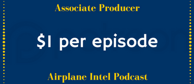 Airplane Intel Podcast is creating Weekly Aviation Podcasts for