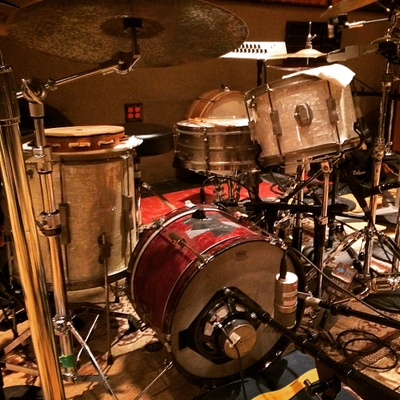 Sticks and Wires is creating Drumming and Recording
