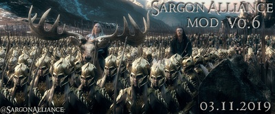 LOTR & Sargon Alliance Mod is creating BFME Modding and
