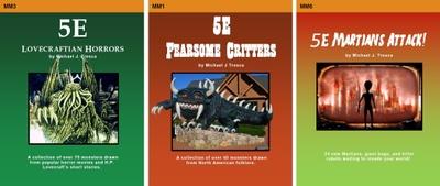 Michael J  Tresca is creating 5E D&D Monsters, Novels, Comics, Game