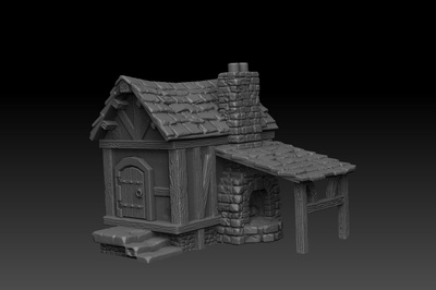 Pinyo is creating 3D printable models for fans of tabletop rpg and