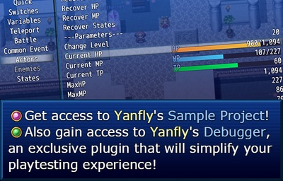 Yanfly is creating RPG Maker Content | Patreon
