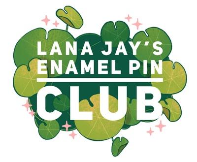 lana jay is creating Enamel pin subscription service | Patreon