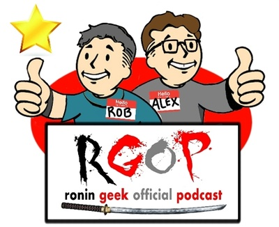 Ronin Geek Official Podcast is creating Podcast, Website, Events