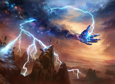 Image result for lightning strike mtg art