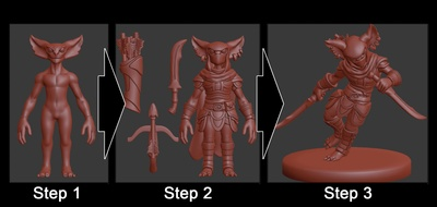 Velrock Art is creating 3D Printed Miniatures | Patreon