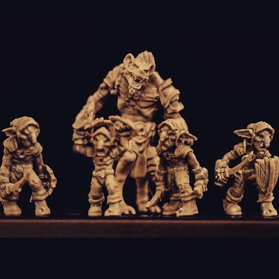 TytanTroll Miniatures is creating Printable Miniatures and Busts for
