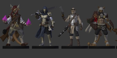 Velrock Art is creating 3D Printable Miniatures | Patreon