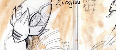Gabriel Morgan is creating an alien planet   Patreon