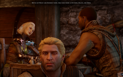 Angela D  Mitchell is creating Dragon Age analyses, fantasy fiction