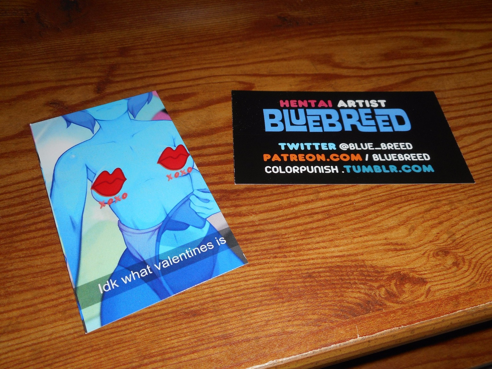 Finished business cards bluebreed on patreon magicingreecefo Choice Image