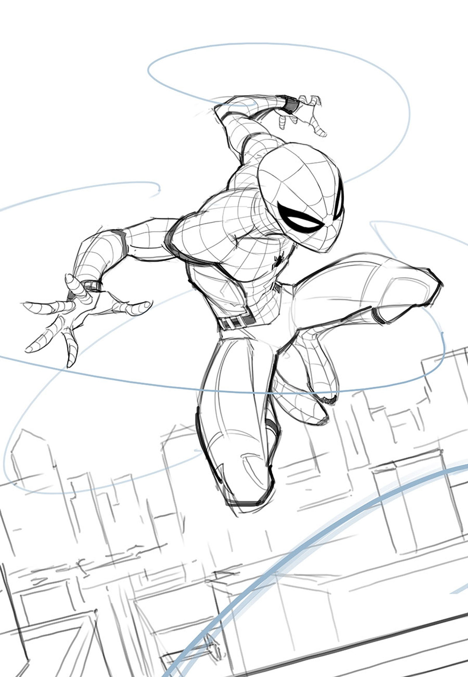 Pin by Phil Taylor on Spiderman coloring in 2020 | Spiderman ... | 2316x1600