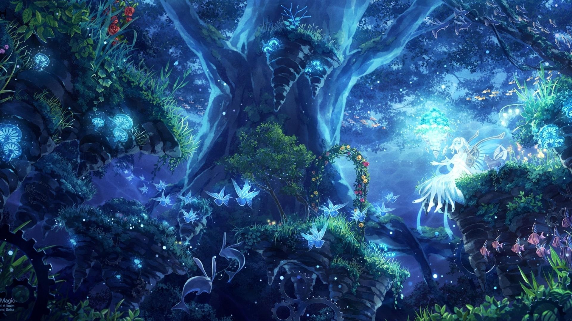 forest fairy wallpaper - photo #1