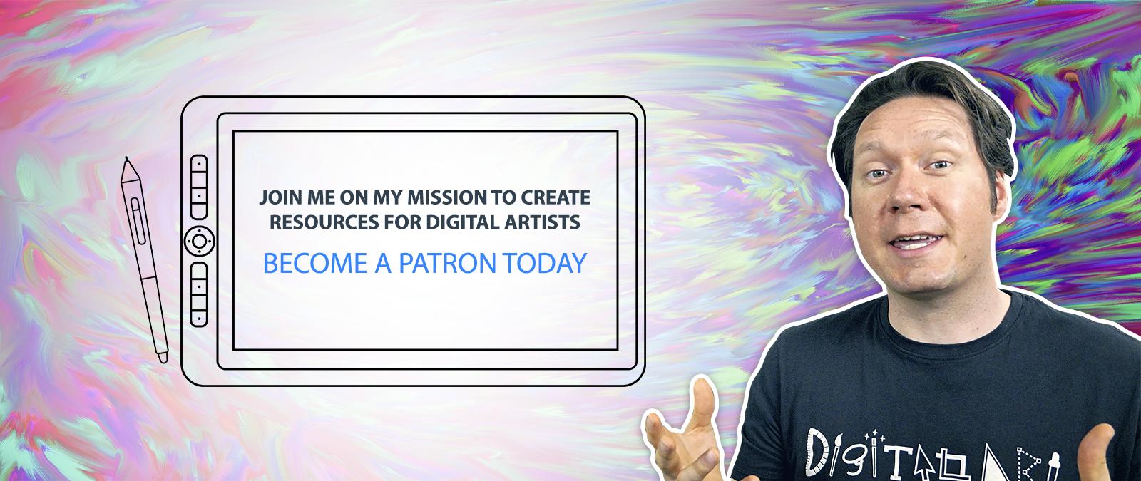Aaron Rutten is creating Digital Art Resources | Patreon