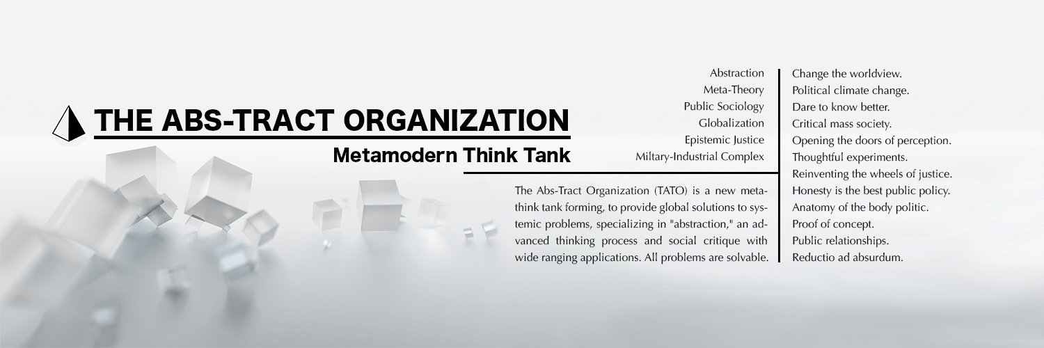 The Abs-Tract Organization is creating a think tank | Patreon