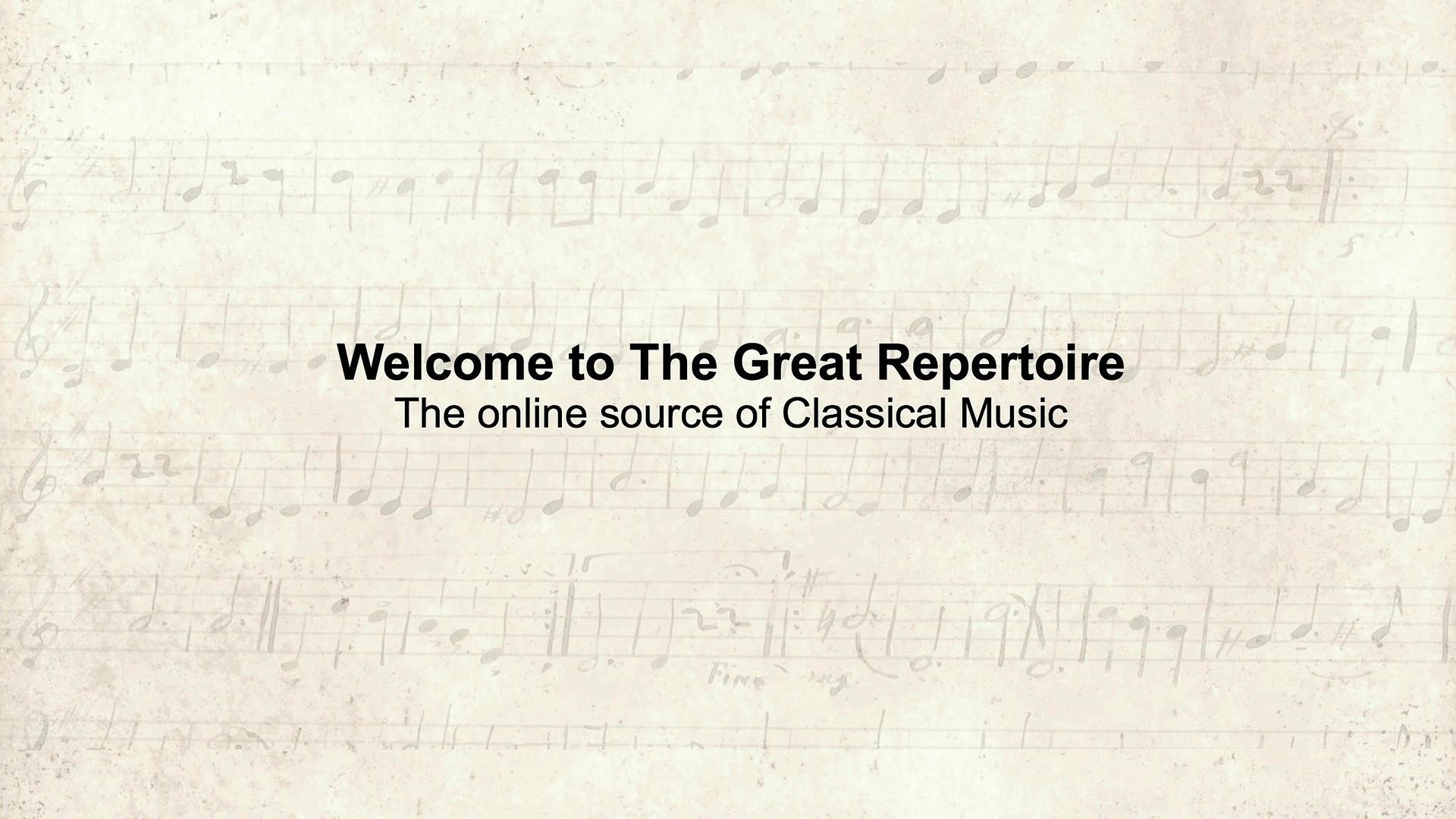 The Great Repertoire is creating Classical Music | Patreon